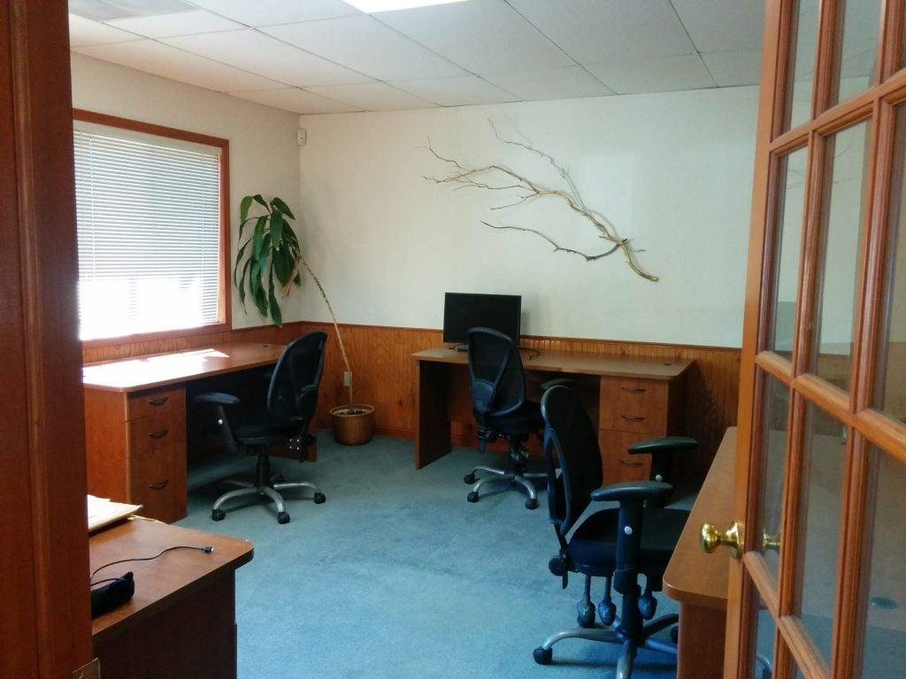 Reserved desks for full time members