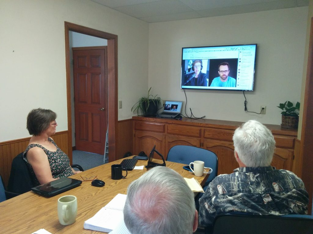 Conference room w/video